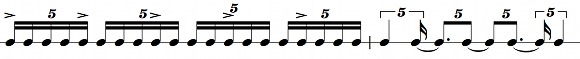 The quintuplets renotated