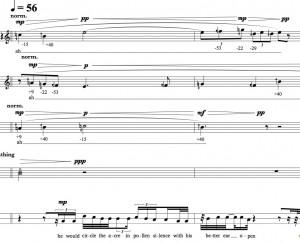 Taylor Brook - Motorman Sextet score excerpt